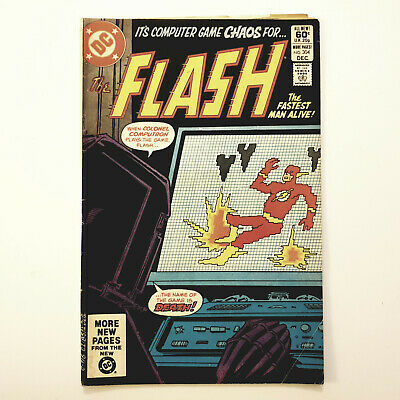 The Flash #304 DC Comics Carmine Infantino 1st Appearance Colonel Computron VG