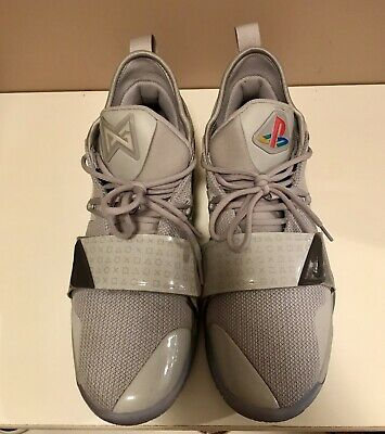 04078a404600 NIKE PG 2.5 PLAYSTATION Paul George Wolf Grey Multi-Color Mens QS DS ...