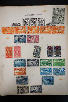 Worldwide A-Z Early 1900s Stamp Collection