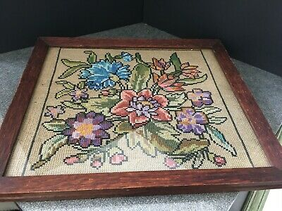 Vintage Cross Stitch by Alice Evans Finished in 1939