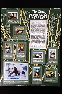Bhutan Limited Edition World Of Stamps China Panda Series Collection