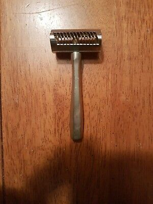 Extremely Rare Cage Guard Safety Razor DE Antique Old Vintage