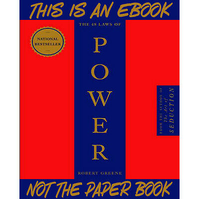 """The 48 Laws of Power by Robert Greene """"Read in Prison and Celebrities"""" eB00k PDF"""
