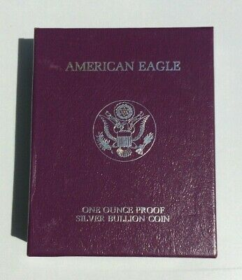 1986-S Silver American Eagle (w/Box and CoA)