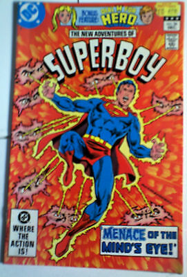 Superboy 36 DC COMIC VF GLOSSY SUPERMAN DIAL H Dec 1982 bronze age MORE LISTED
