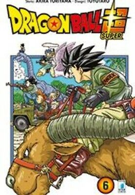 manga DRAGON BALL SUPER N. 6 - nuovo panini planet manga