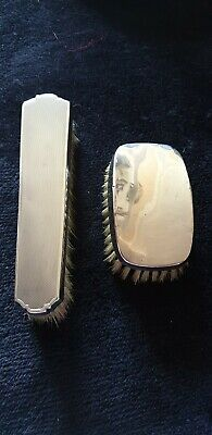 Vintage Silver Clothes Brushes
