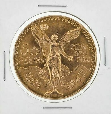 Mexiko 50 Pesos 1947 Goldmünze