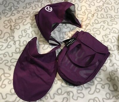BNWTs Oyster 2 Oyster Max Oyster Gem Carrycot Colour Pack Wild Purple