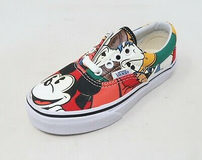 d77f764bab6e95 VANS ERA DISNEY Mickey and Friends Lace Up Youth Sneakers Kids Girls ...