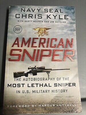 American Sniper Uncorrected Proof Book Chris Kyle Rare