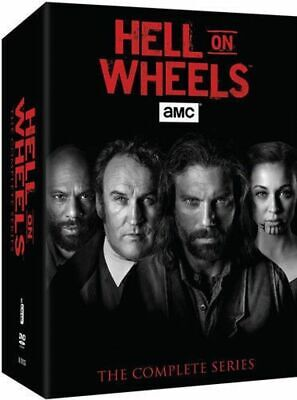 Hell On Wheels Complete Season 1-5 TV Series Collection DVD Box Set 1 2 3 4 5 BN