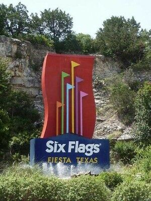 4 Six Flags Fiesta Adult One-Day Admission Tickets Expires 6/16/2019 ships free!