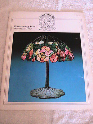 Antique catalog/brochure/book Christie's Forthcoming Sales December1982