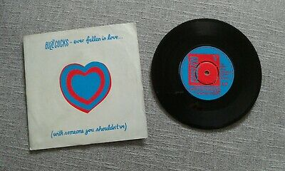 """Buzzcocks Ever Fallen In Love (with someone you shouldn't've) 7"""" Single"""