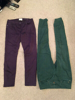 Job lot bargain 2 pairs ladies skinny jeans size 14 Oasis and Red Herring