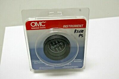 New P/N 0176318, System Check Gauge, Evinrude, Johnson, BRP, OMC, 176318.
