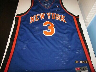 quality design 498c4 18bf1 STEPHON MARBURY NEW York Knicks Nike Jersey Adult 2XL