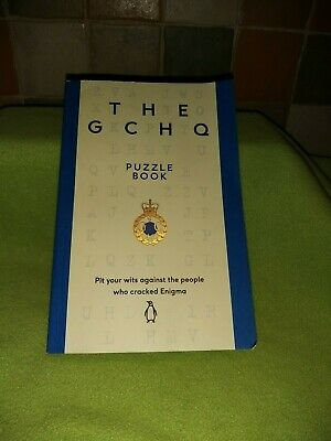 The GCHQ Puzzle book excellent condition