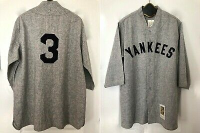 0b50a1005 Babe Ruth New York Yankees 1927 Road Mitchell & Ness Wool Jersey - Holiday  Sale