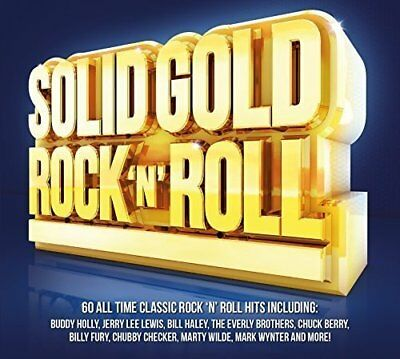 Solid Gold Rock n Roll - 3 CD Box Set - New & Sealed