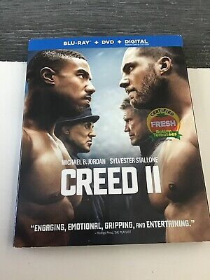 #BRAND NEW# CREED II (Blu-ray+DVD+DIGITAL) FACTORY SEALED