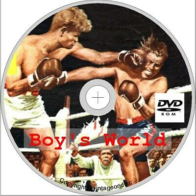 Boys World Comic 89 Issues on Dvd Rom