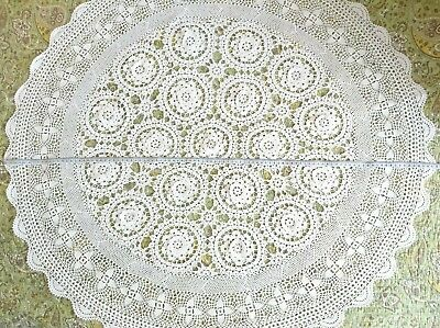 Mantel De Ganchillo Crochet Tablecloth 100 Cm