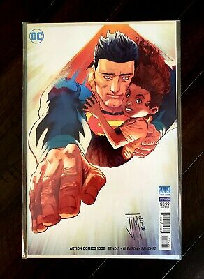ACTION COMICS # 1002; First Naomi; with bonus Mack variant copy; NM