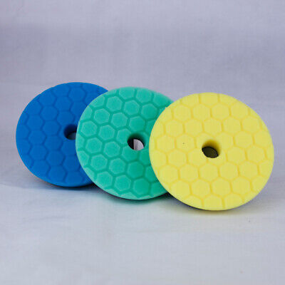 Chemical Guys 5 inch Hex Logic Quantum Pads Hard Paint Kit - Polishing Pads
