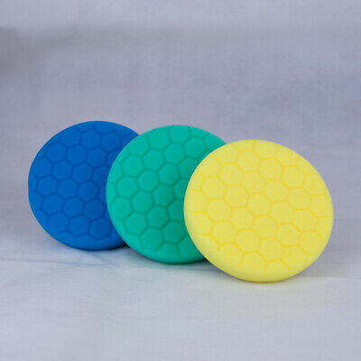 Chemical Guys 5 inch Hex Logic Pads Hard Paint Kit - Polishing Pads