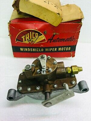 Vintage Trico Air Pressure Wiper Motor APM 21 - 21 NOS W/ Box Ford Truck 1960's