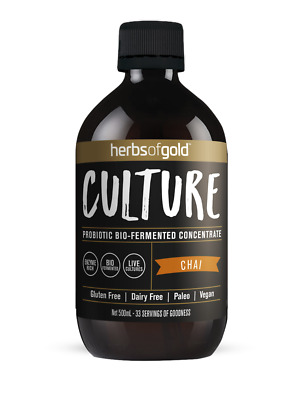 Herbs Of Gold Culture Probiotic Bio-Fermented Concentrate Chai 500Ml