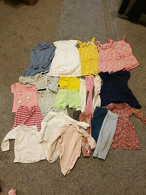 girls clothes bundle 9-12 months.