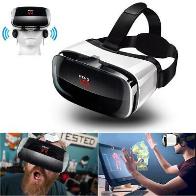 3D Virtual Reality VR Headset Movie Glasses Goggles For Android iOS Mobile Phone
