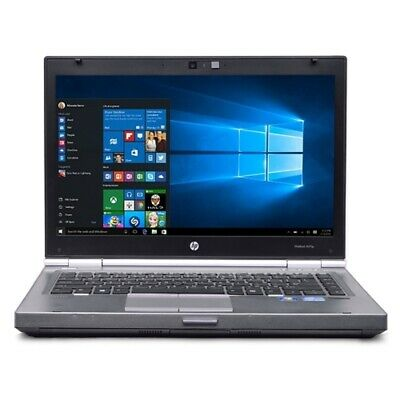 Refurb HP EliteBook 8470p Core i5-3320M Dual-Core 2.6GHz 4GB 320GB 14 LEDNoteboo