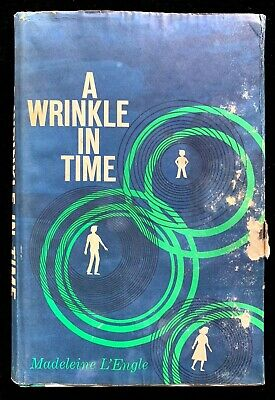 A Wrinkle in Time by Madeleine L'Engle, 1962, Book Club Edition, DJ/HC rare!