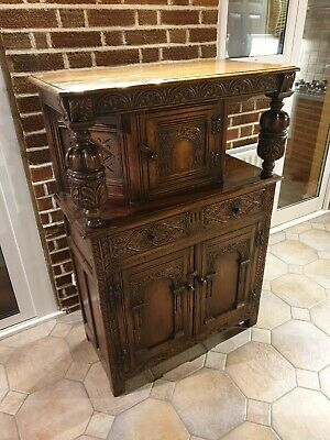 Reproduction 17th Century Sideboard dresser cabinet. Made in 1950s