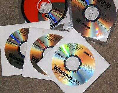 MICROSOFT Windows 2000 Server & Service Pack 2 New CD only