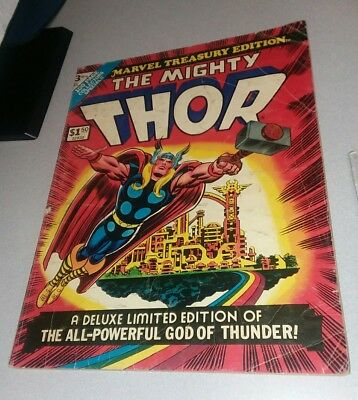 MARVEL SPECIAL TREASURY EDITION #3 The mighty thor 1974 STAN LEE classic key