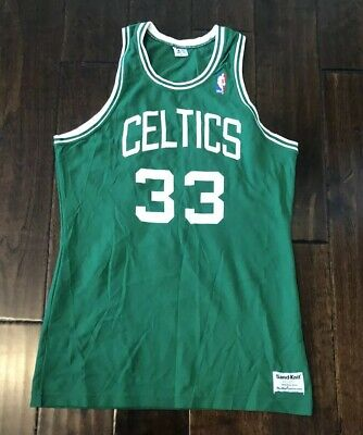 superior quality 6481b 13ad4 NWT BOSTON CELTICS NBA Vintage Sand Knit Basketball Jersey ...