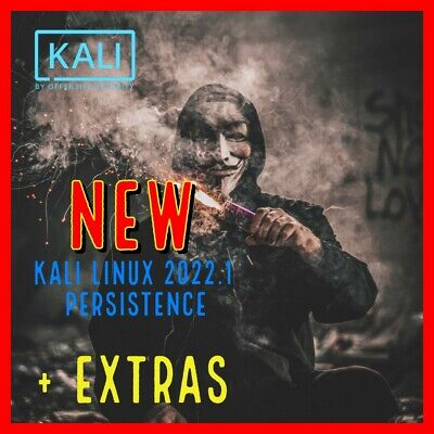 KALI LINUX USB 16GB / 64Bit - With Persistence + 50 hours Hacker