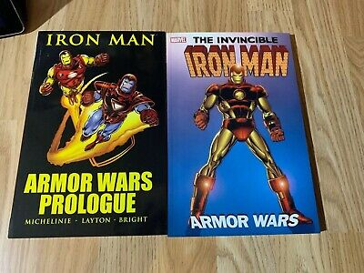 Iron Man Armor Wars And Prologue Marvel TPB Paperback Avengers