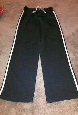Next girls navy tracksuit bottoms joggers age 11