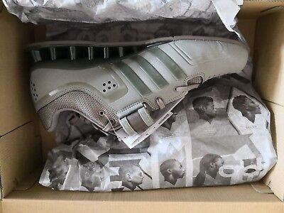 a108890ec3f5 Adidas Adipower Cargo Weightlifting Shoes - Cargo Military Green uk10 brand  new