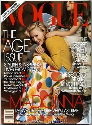 Madonna - Vogue Magazine Usa Edition (August 2005) Lady Of The Manor Photo Shoot