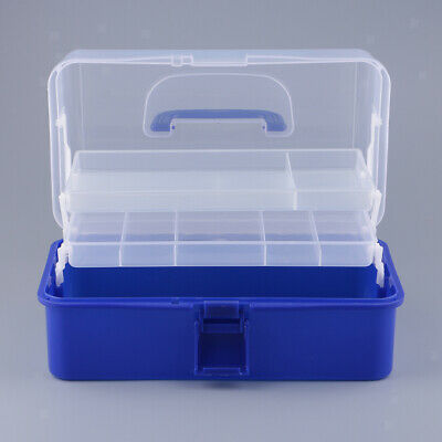 Multi-functional Portable Art Supply Craft Storage Tools Box Container Case