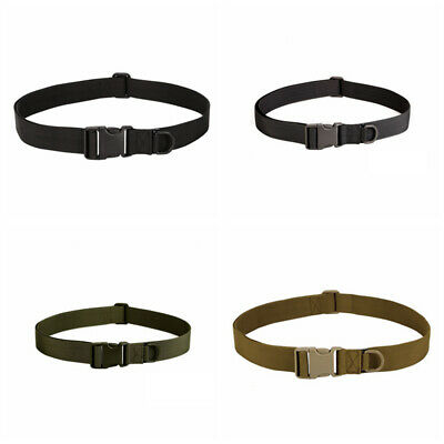Tactical Adjustable Belt Buckle Waistband Military Rescue Rigger Useful Tools US