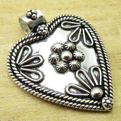 """OLD STYLE Pendant 1.6"""" Wishlist ! Silver Plated Metal Jewelry WHOLESALE PRICE"""