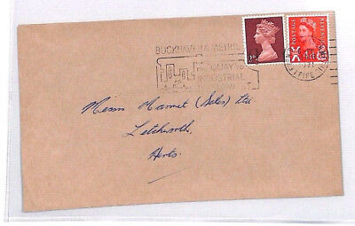 BR13 1971 GB SCOTLAND REGIONAL *Methil* WILDINGS MACHIN Combination Cover
